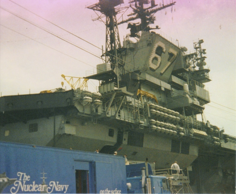 Bridge of USS Kennedy
