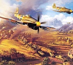 WW2 Plane artwork