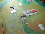 Kaiserschlacht 10 - Obltn. Eduard von Schleich of Jasta 10 (Bryan Gagen) and Ltn. Johann Reinhold of Jasta 11 in the red and blue Albatros D.Va (Carl...