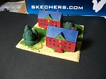 1/235th Scale 3D Target Buildings