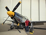 Ride in a P-51