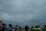 T-6 formation flyover