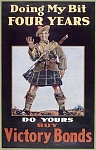 WWI War Bond and Contribution Posters