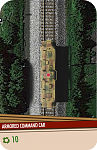 "A request from Daneil [Dan-Sam] to assist with his WWII ""Sky over the Railyard!"" scenario lead to the production of several cards and train track sections.