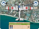 CANT Z.506S Rescue  612a Squadriglia, Sicily, Italy  Regia Aeronautica  Management Card    Background South Sicily courtesy of Google Earth  ...