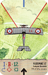 Nieuport 17  Layfayette Escadrille  Flt Lt William Jensen    Flyboys Movie colour scheme...