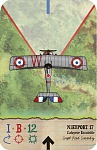 Nieuport 17  Layfayette Escadrille  Captain Reed Cassidy    Flyboys Movie colour scheme...