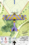 Fokker DVII  KÖNIGSADLER JASTA (fictitious)  Oblt Franz Lange    Aerodrome Accessories card style  Custom for Paul [tikkifriend]