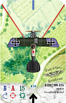 Albatros D.Va  Jasta 12  Ltn Ulrich Neckel    Revised  Aerodrome Accessories card style  Custom for 2016 Lend-Lease Fundraiser No.2