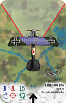 Albatros D.Va  Jasta 12  Ltn Karl Meierdierks    Redone with new background, firing arc, pilot and retouched layers.  Aerodrome Accessories card...