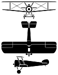 Sopwith Camel silhouette