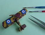 1/144 WoW repainted Snipe to SOPWITH SALAMANDER