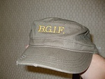 BGIF hat and shirts