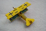 Liked the yellow Fokker D VII Gottard Schassenberg flew, but did my own take on it: left the checkers off the fuselage and kept the tail fin yellow instead of white.