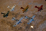 Here are my latest plane acquisitions that I am looking to repaint. Suggestions are welcome. I kinda like the livery of Jasta Boelcke's Paul Baumer for the Dr.1.