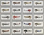 WW1 Planes Profiles Cards (DOGFIGHT card game)