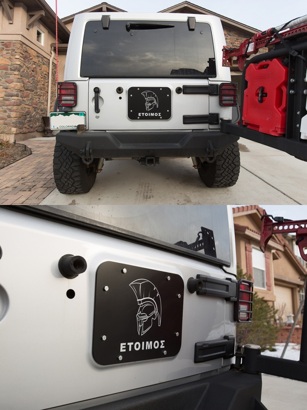Wrangler Jk Tramp Stamp Since Adding JCR Bumpers That First Year I Never Got Around To Buying One Of Those