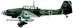 Click image for larger version.  Name:Pilot - Col.Hans-Ulrich Rudel, gunner - Cpt.Niermann. This aircraft crashed during landing at Ki.jpg Views:55 Size:31.3 KB ID:267184