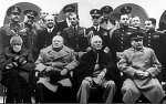 Click image for larger version.  Name:Bernie with FDR, Chruchill, Stalin....jpg Views:56 Size:56.7 KB ID:296721