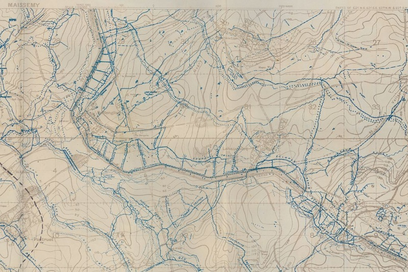 Name:  WW1_Trench_Map_of_Maissemy_crop st quentin canal area.jpg Views: 52 Size:  244.2 KB