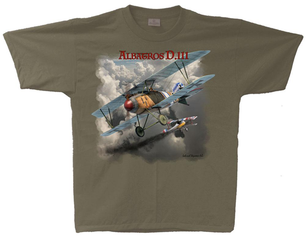 Name:  Albatros DIII Jasta5 Strobel T-Shirt.png