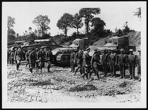 Name:  Whippet tanks August 1918.jpg Views: 50 Size:  70.6 KB