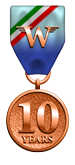 Wings of Glory 10-Year Anniversary Medal