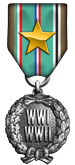 Aerodrome Campaign Medal - Gold