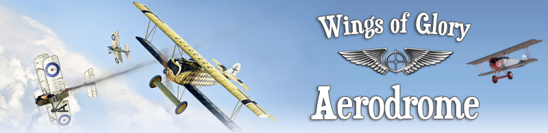 Wings of Glory Aerodrome - Where Players Fly!